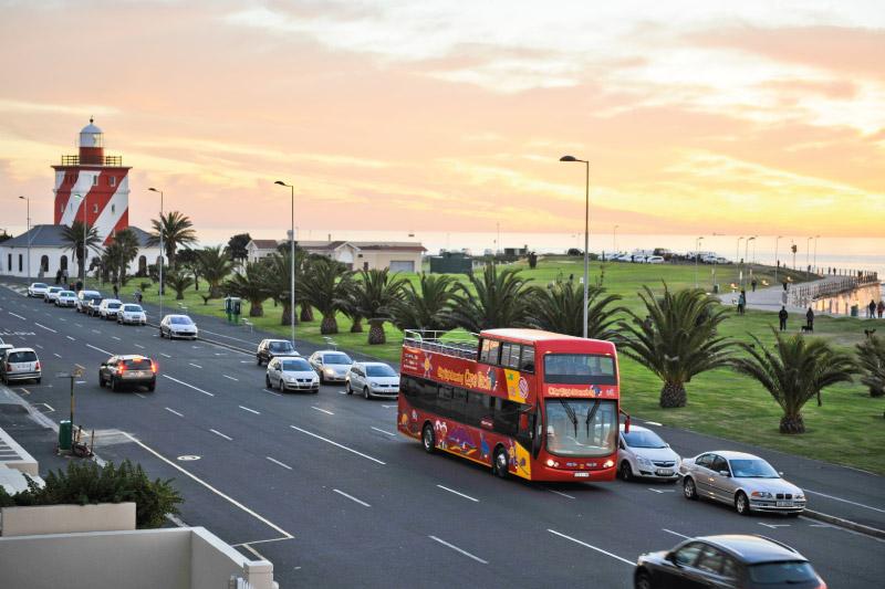 mouille-point-village-red-bus
