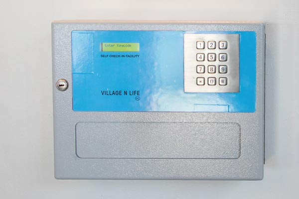 self check in facilities